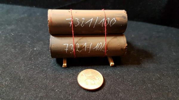 LG 004 - Ladegut 3 Rohre gebündelt, ca 50 mm lang 1:87
