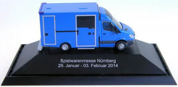Rietze Messemodell Mercedes RTW zur Spielwarenmesse Nürnberg 2014