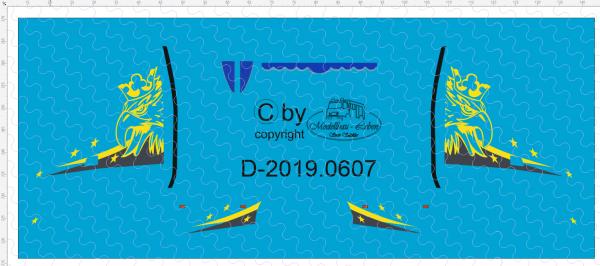 D-2019.0607 - Decalsatz Scania Greif mit Sternen - 1 Paar - 1:87