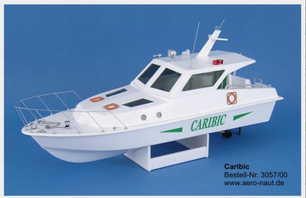 Aero-Naut 305700 - Caribic Motoryacht Modellbausatz