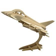 Pebaro 866/4 Holzbausatz Eurofighter
