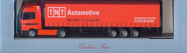 Herpa TNT Automotive - MB Actros LH Exclusive Serie 1:87