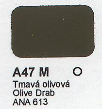 4842AP Vallejo Italeri Acrylicpaint Acrylfarbe flat Olive DrabAna 613 - Olivgrün Ana 613 , matt 20 m