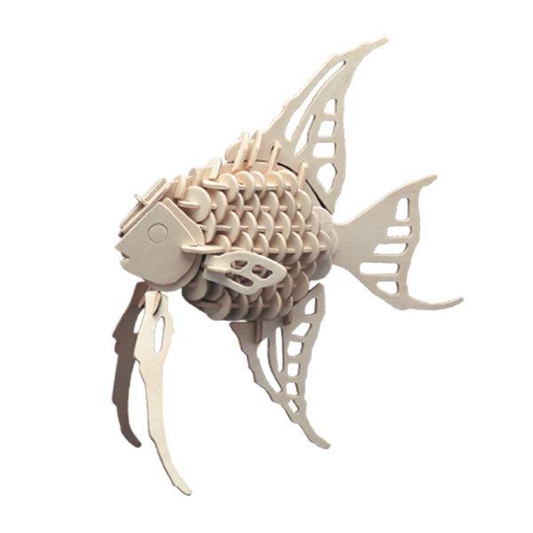 Pebaro 852/2 Holzbausatz Fisch