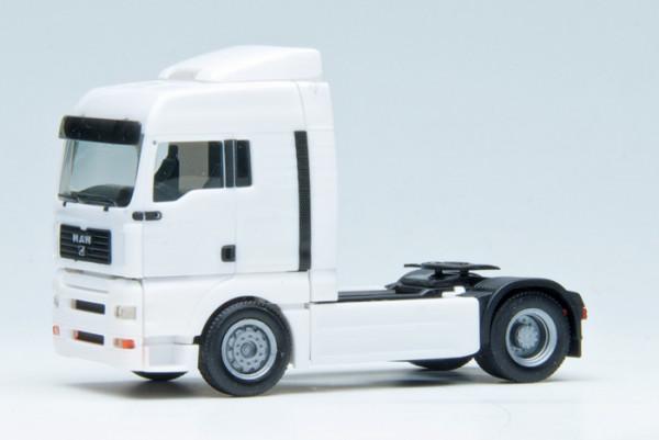 Herpa 570501 MAN TG-A XLX Zugm. vvsp. 2achs (FH weiß, Chassis schwarz)