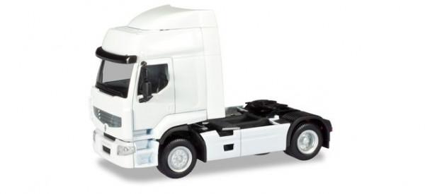 H 013635 MiniKit: Renault Premium Zugmaschine weiß