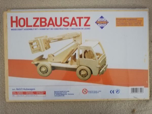 Pebaro 863/2 Holzbausatz Hubwagen