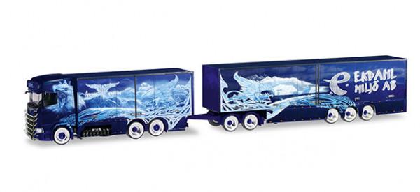 "Herpa 309844 Scania CS 20 Hochdach Eurocombi ""Ekdahl / Arctic Griffin"" (S)"