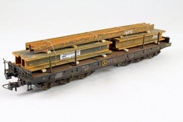 Vorbestellung Ladegüter Bauer H01064 H-Stahlträgerpaket 1 verschiedene verrostete Stahlträger mit un