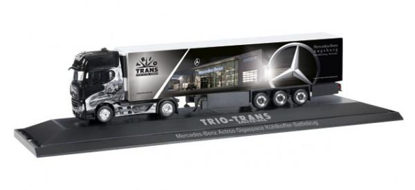 "Herpa 121644 Mercedes-Benz Actros Gigaspace Kühlkoffer-Sattelzug ""Trio-Trans"""