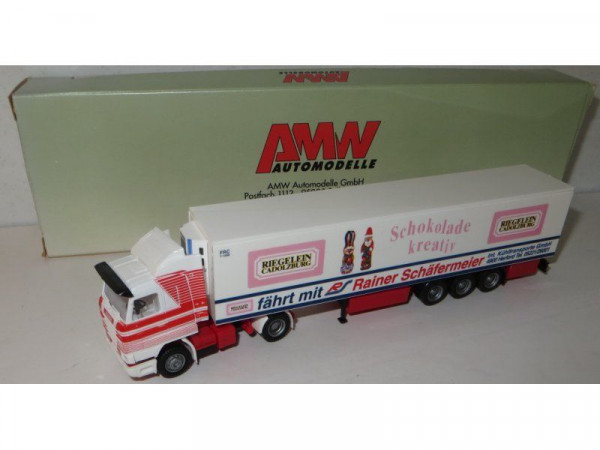 "AWM 95721 ""Scania Streamline RIEGELEIN Cadolzburg"" 1:87, neu, OVP, gesupert"