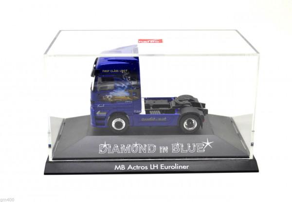 Herpa 1:87 Mercedes-Benz Actros LH Euroliner Solozugmaschine - Diamond in Blue
