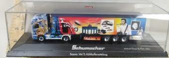 """Herpa Scania R Spedition Schumacher """"Elvis"""" 1:87"""