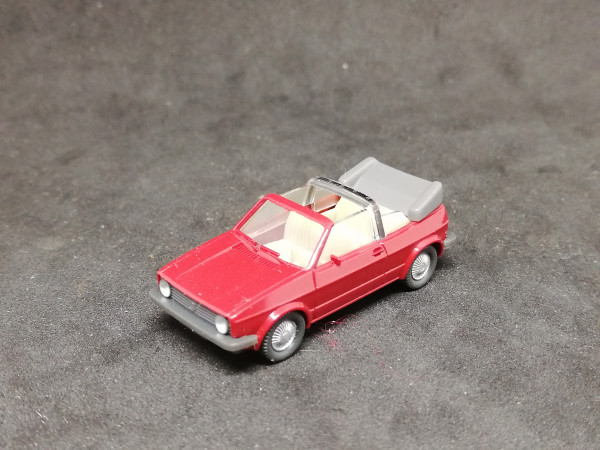 Wiking VW Golf Cabrio rot