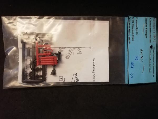 Resin Kleinserien KTS 404 Bausatz PKW-Anhänger Gasflaschen 1:87
