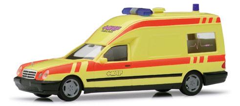 Herpa 188821 MB W 210 Binz Krankentransportwagen