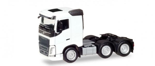 Herpa 308724 Volvo FH 6x2 Zugmaschine, weiß