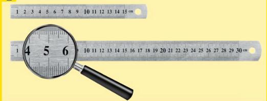 Modellbau Stahllineal 30 cm