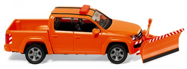 Wiking 031104 VW Amarok - Winterdienst, Modellauto 1:87