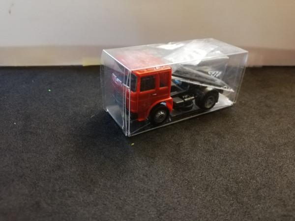 Herpa BS154222-09 Roman Diesel Bausatz rot 1:87