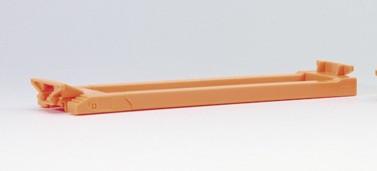 692405 Teleskop-Kesselbrücke (Orange) für Goldhofer Tieflader 1 Stück