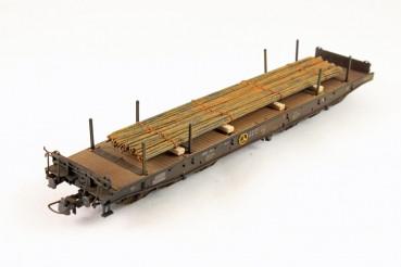 Vorbestellung Ladegüter Bauer H01000 Rundstahl Stahlstäbe aus dem Eisenwerk 135mm