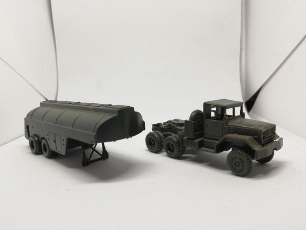 Roco 169 US M35 mit Tankauflieger