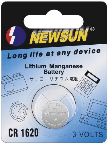 New Sun Knopfzelle Lithium Batterie CR1620 CR 1620