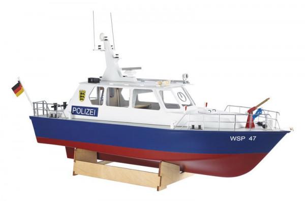 Krick 20360 - Polizeiboot WSP47 Bausatz 1:20