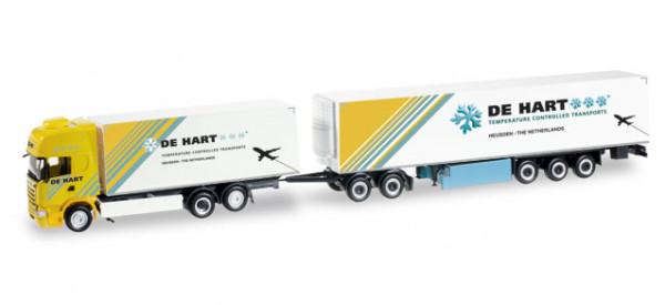 """Herpa 305105 Scania R TL Eurocombi """"De Hart"""" (NL)"""