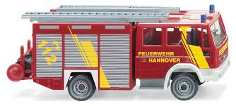 Wiking 061104 Feuerwehr Hannover LF 16 / 12 Iveco Eurofire