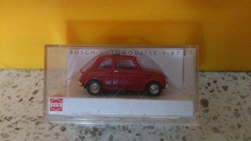 Busch 48700 FIAT 500 rot