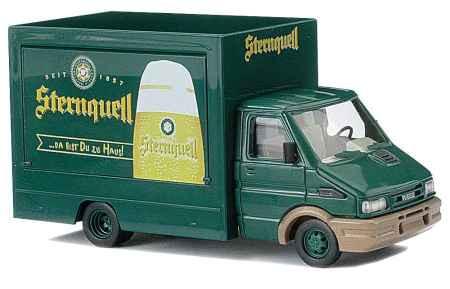 """Busch Iveco Daily Verkaufswagen """"Sternquell"""", #47920 - 1:87"""
