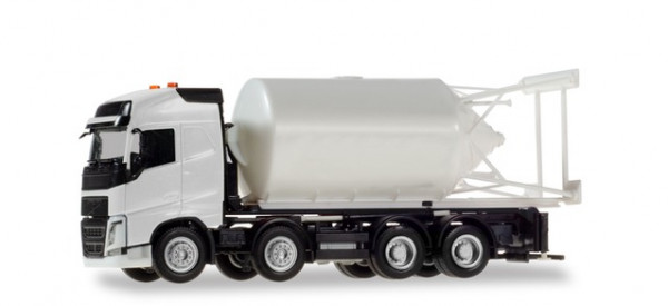 H 013604 Minikit: Volvo FH Gl. Silosteller-LKW 4-achs, weiß