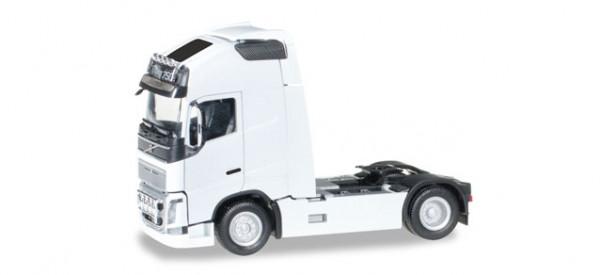 Herpa 304047-004 Volvo FH 16 Gl. XL Zugmaschine mit zwei Lampenbügeln, weiß