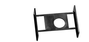 ML 692539 Unterfahrschutz Heck für Euroauflieger schwarz (1 Stück)
