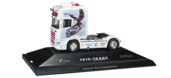 "Herpa 110662 Scania R TL Zugmaschine ""Power Eagle / Trio-Trans"""