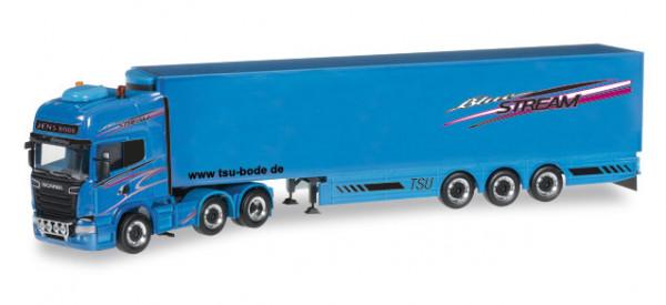 """Herpa 305112 Scania R TL Kühlkoffer-Sattelzug """"Jens Bode"""""""