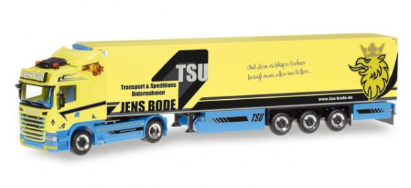 """Herpa 307758 Scania R HL Kühlkoffer-Sattelzug """"Jens Bode"""""""