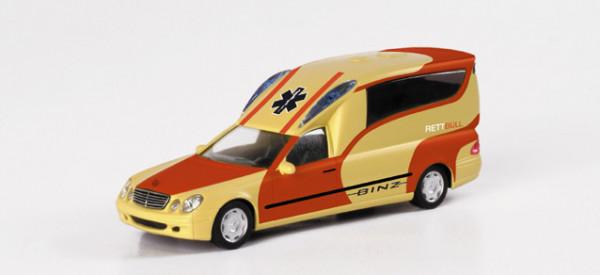 """Herpa 046275 Mercedes-Benz Binz A 2003 KTW """"Binz Design"""" Leuchtgelb"""
