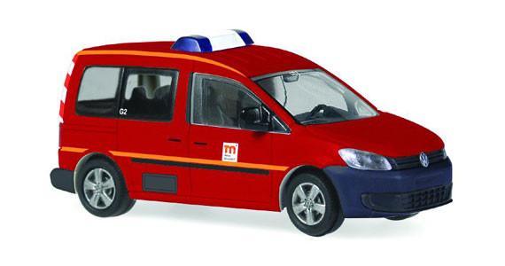 Rietze 52906 VW Caddy Feuerwehr Messe Düsseldorf