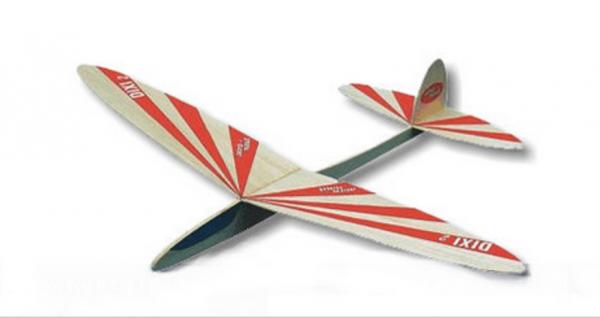 Aero-Naut 1001/00 - DIXI 2 - Balsa Wurfgleiter