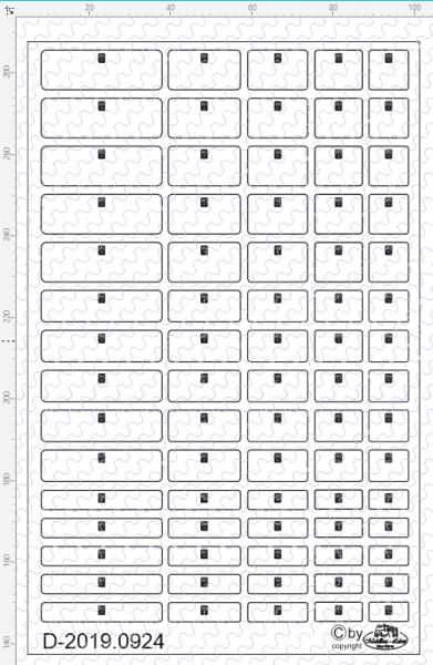 D-2019.0924 Decalsatz Staukästen für Zugmaschinen, Auflieger, Camping, Wohnwagen etc. - verschiedene