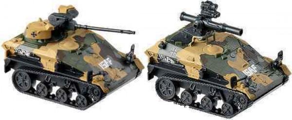 Roco 5400 minitank 1:87 Wiesel TOW+MK 20 ISAF BW Neu in OVP