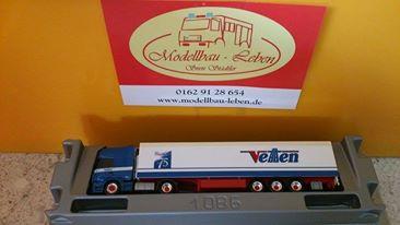 "Herpa 152228 Scania R TL Schubboden-Sattelzug ""Vetten"""
