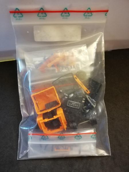 Herpa BS154222-05 Bausatz Roman Diesel orange 1:87