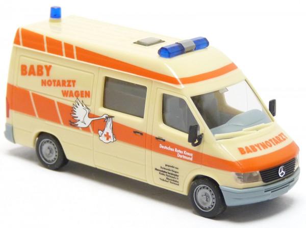 """Herpa 043601 """" MB Sprinter Baby-Notarztwagen """""""