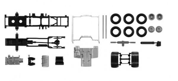 084550 Fahrgestell DAF XF Euro 6 mit Chassisverkleidung Inhalt: 2 Stück