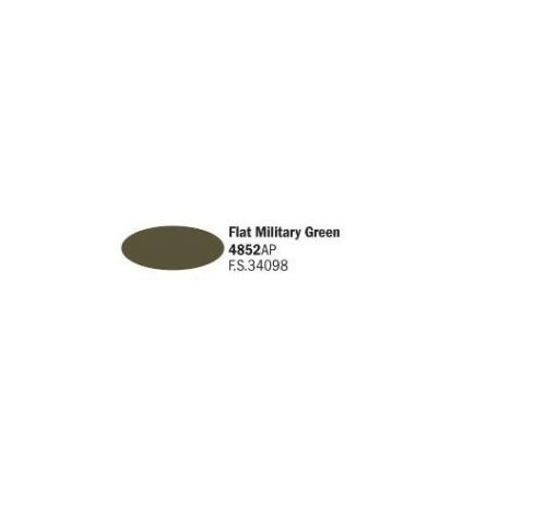 4852AP Vallejo Italeri Acrylicpaint Acrylfarbe flat Military green - Militärgrün , matt 20 ml