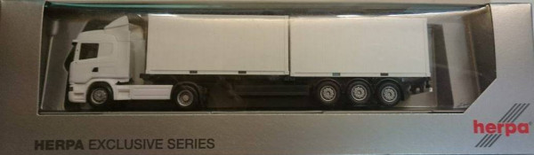 Herpa 007280 Blanko Scania 2 a mit 2x 20Ft. Container